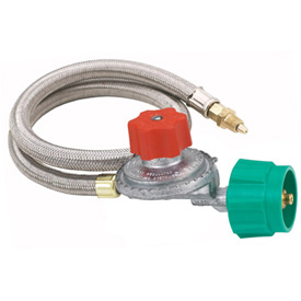 Burner Regulator, 10 PSI w/Hose