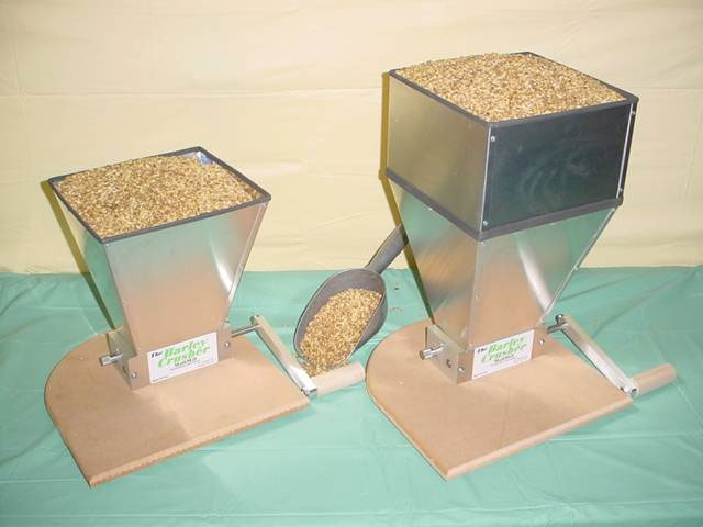 Barley Crusher Malt Mill w/7 lb Hopper