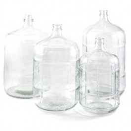 Carboy, Glass, 6 Gal