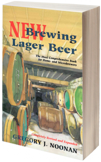 New Brewing Lager Beer