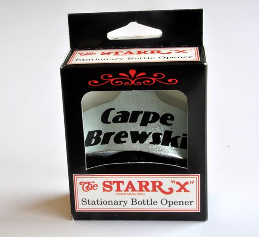 "Bottle Opener, ""Carpe Brewski"""