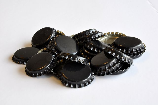 Bottle Caps, Black