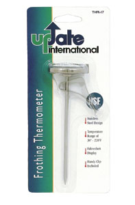 Thermometer, Clip-On 8""